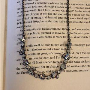 Sorrelli White Bridal Delicate Necklace
